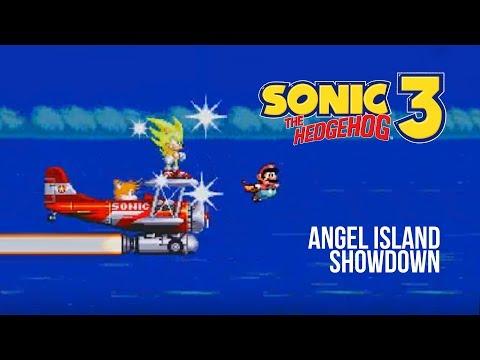 Sonic vs. Mario - Angel Island Showdown