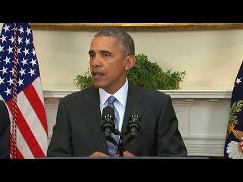 Watch: President Obama speaking on Guantanamo Bay plan