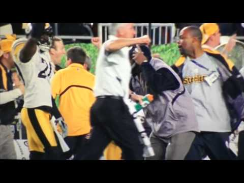 James Harrison 100 yard Super Bowl Interception
