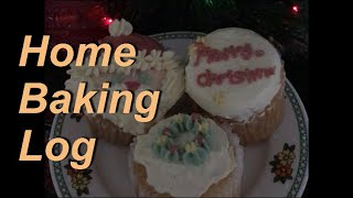크리스마스 컵케이크 만들기 (홈베이킹) / homeba…