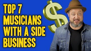 Top 7 Musicians with a Side Business | Marty Schwartz