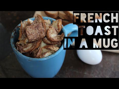healthy-french-toast-in-a-mug-recipe-|-how-to-make-healthy-low-calorie-french-toast-in-a-mug