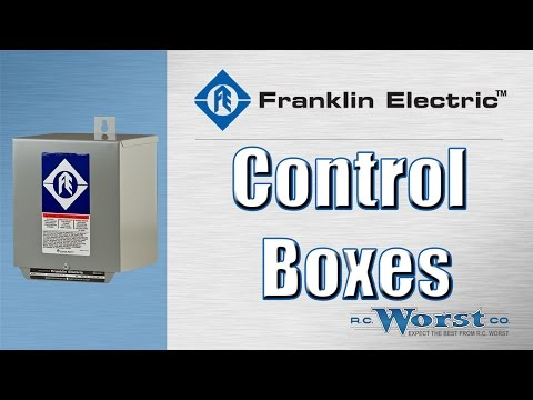 Franklin Electric Standard And Deluxe Control Boxes