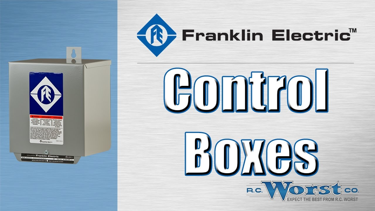 Franklin Electric Standard and Deluxe Control Boxes - YouTube