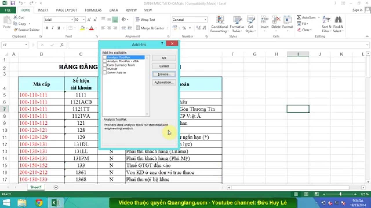 Cách in hai mặt giấy trong Excel 2003, 2007, 2010, 2013