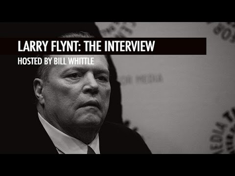 Larry Flynt's Unfiltered Thoughts On Politics, the Press and Free Speech!
