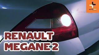 Installation Heckleuchten Glühlampe RENAULT MEGANE: Video-Handbuch