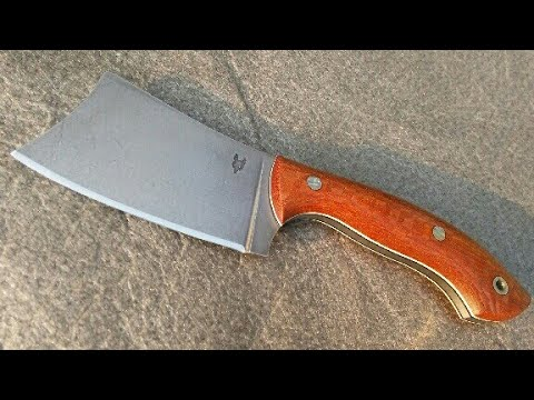 Making a Knife, EDC Cleaver Self-Defense. +listing on ebay auction