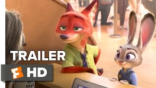 Zootopia Official Sloth Trailer #1 (2016) - Disney Animated Movie HD