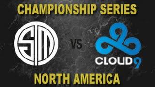 TSM vs C9 - 2014 NA LCS Summer Playoff Finals G4