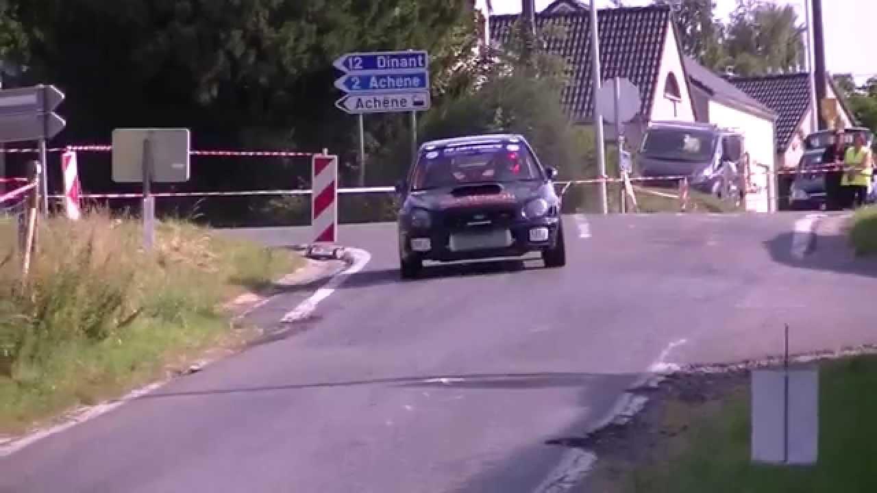 Rallye Sprint De Achene 2015 Youtube