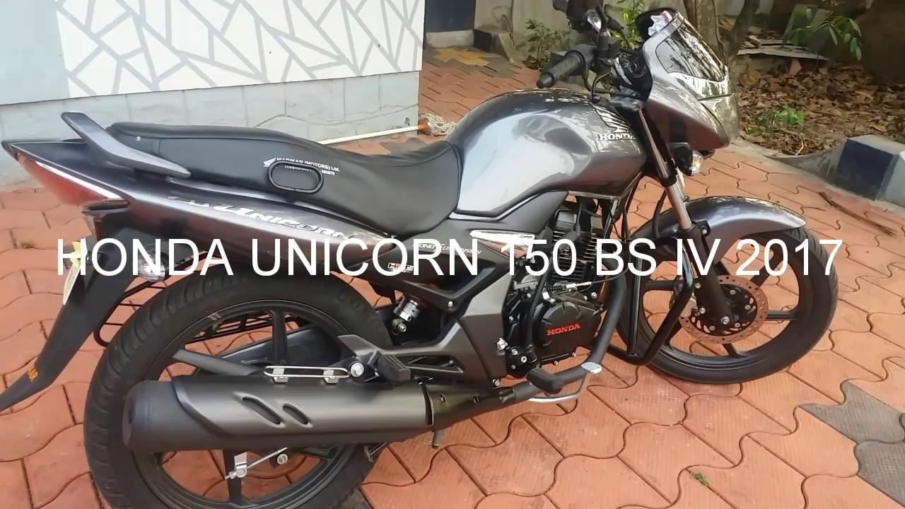 honda cb unicorn  bs iv  model youtube