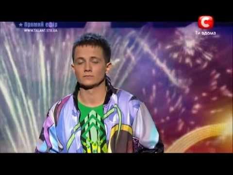 Украна ма талант-3 полуфинал - Артм Лоик рэп