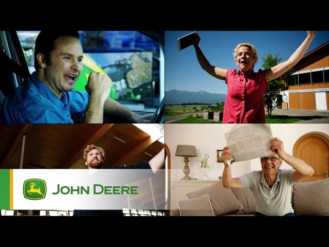 Tracteur 5R John Deere - Vidéo Teaser