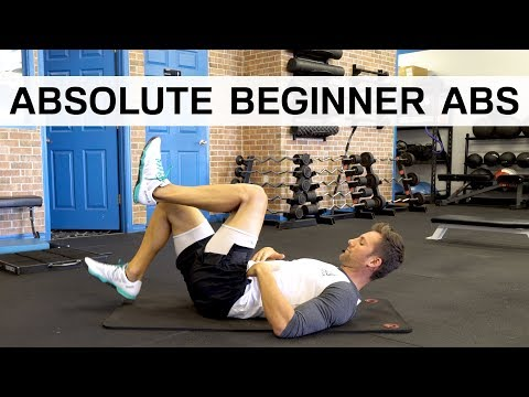 Absolute Beginner Abs – ONLY 8 Minutes