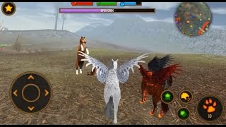 Clan of Pegasus - Flying Horse - Android gameplay (iOS)