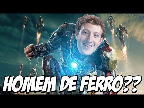 Mark Zuckerberg quer virar o HOMEM DE FERRO?