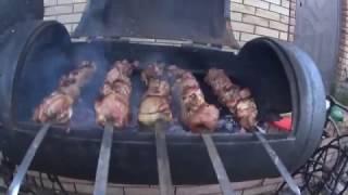 Как приготовить вкусный шашлык из баранины дома(Наша кухня)
