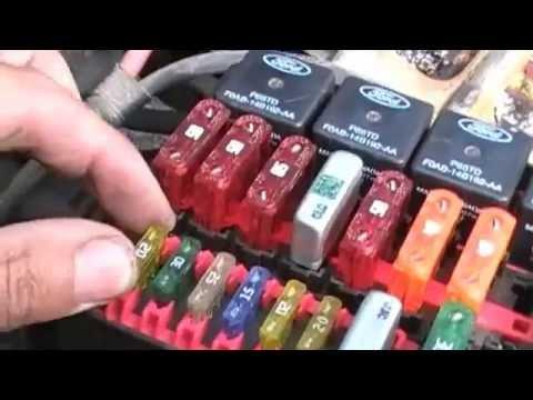 2001 crown vic fuel pump ecm bypass  YouTube