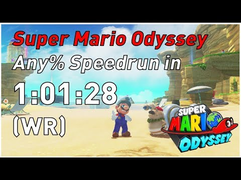 Super Mario Odyssey - Any% - 1P in 1h 01m 28s by Suisaiga