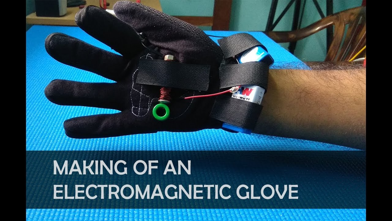 how to make electromagnetic gloves
