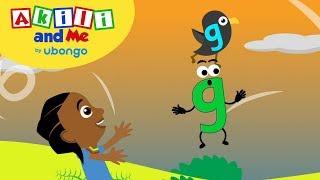 Meet Letter G! | Akİli and Me | African Preschool Cartoons