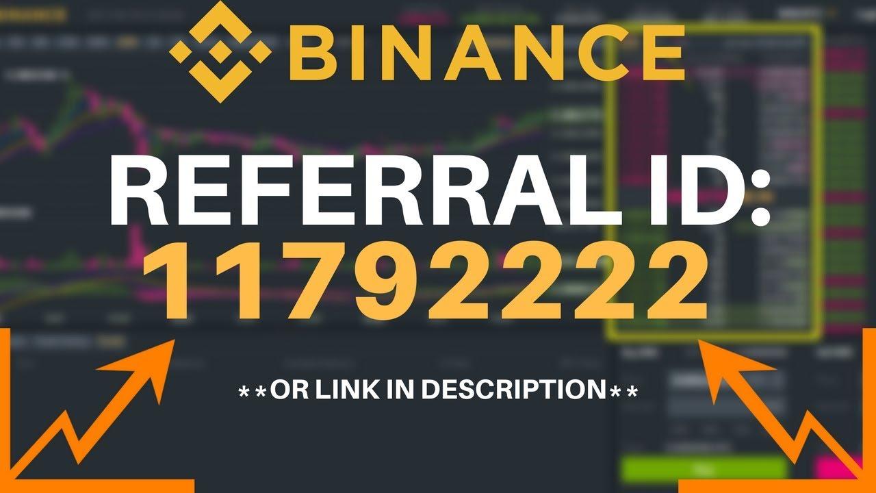 Binance Referral Id