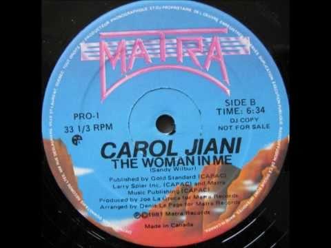 The woman in me - Carol Jiani