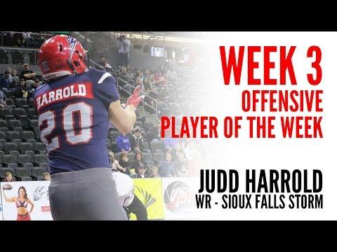 Week 3 Offensive Player of the Week: WR Judd Harrold