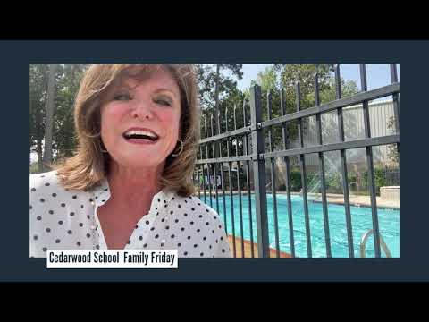 Family Friday at Cedarwood School - Sept 4,  2020