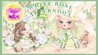 Line play สุ่ม magic box White rose afternoon♡︎ screenshot 3