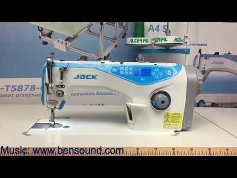 Stebnówka JACK A40 A40N YouTube Interesting Jack A4 Sewing Machine Price