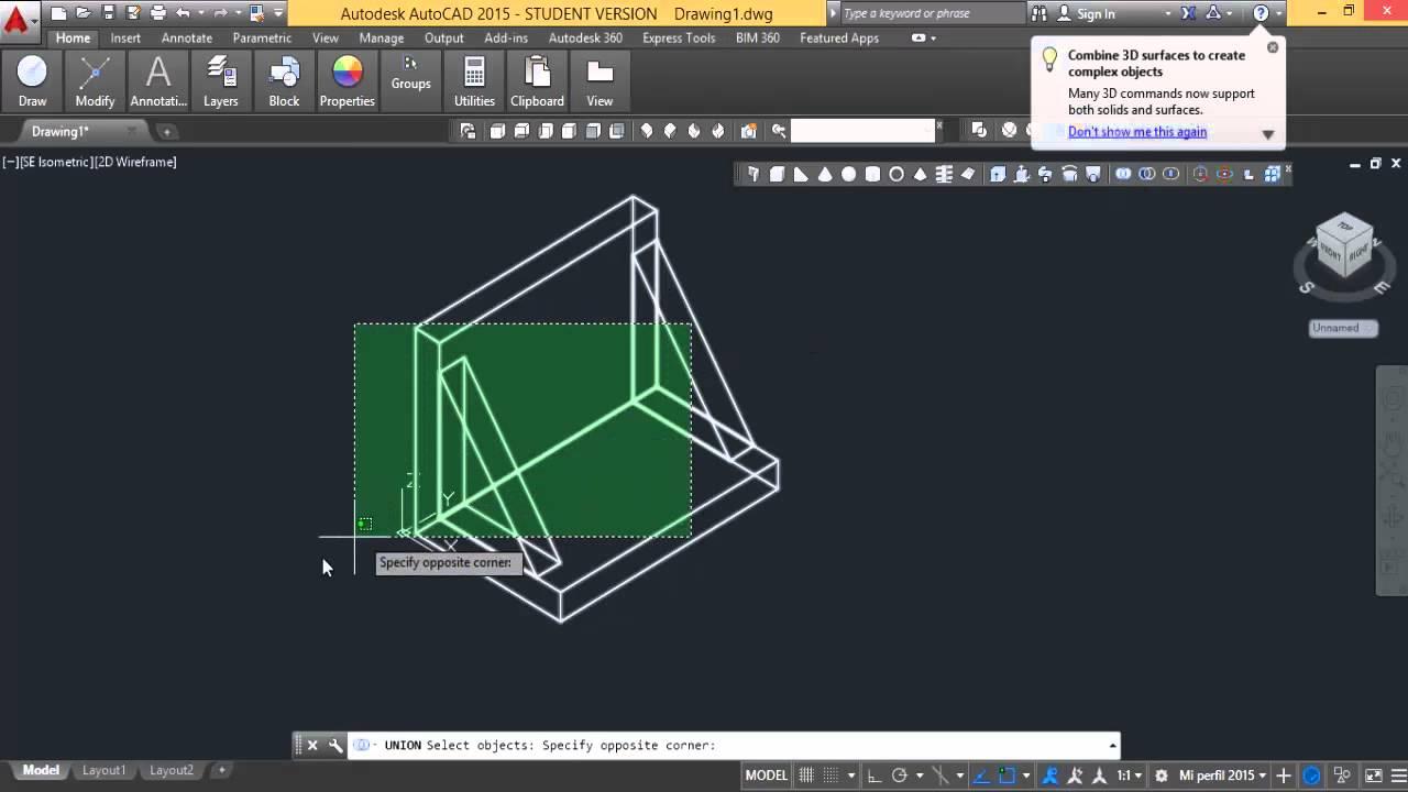 Dibujo de piezas mecanicas en 3d parte 1 de 3 youtube for Programa para dibujar en 3d gratis