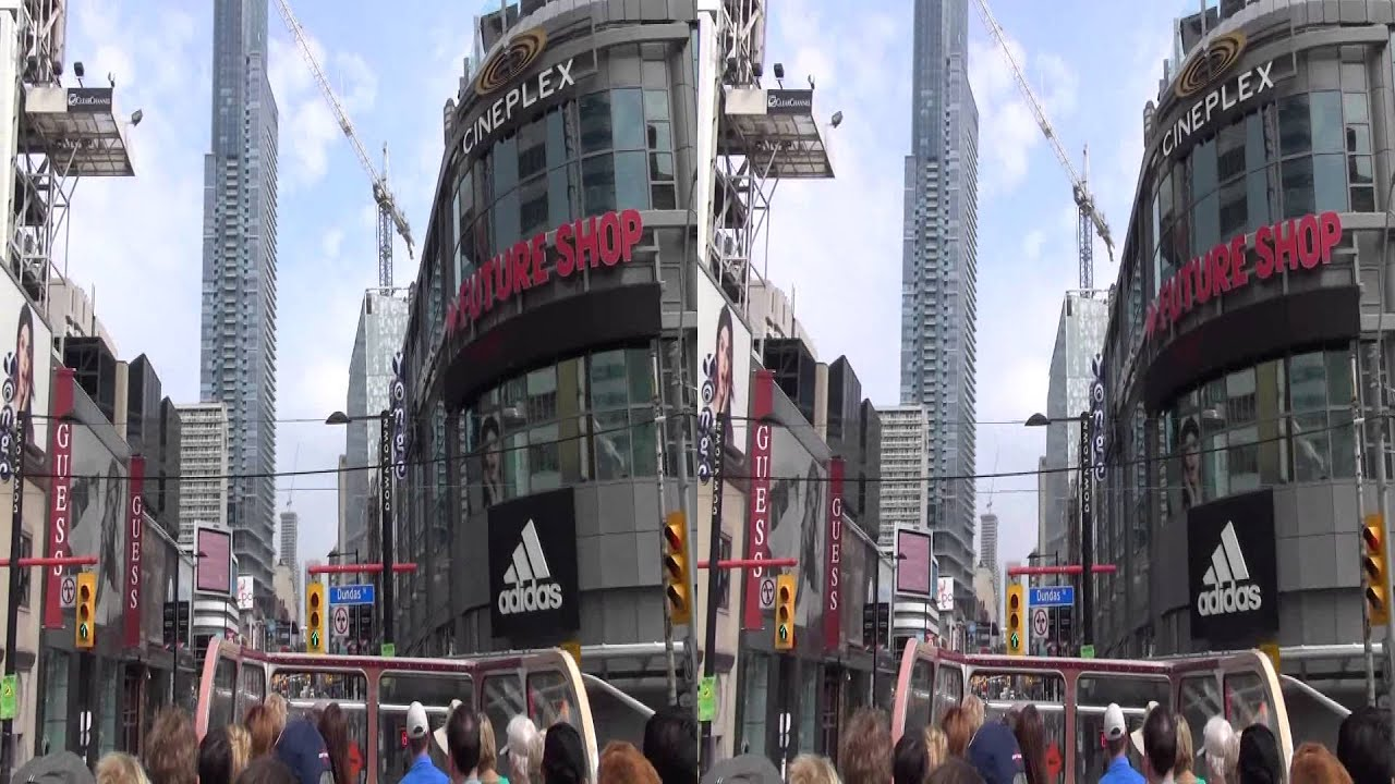 toronto city sightseeing bus tour 3d youtube. Black Bedroom Furniture Sets. Home Design Ideas