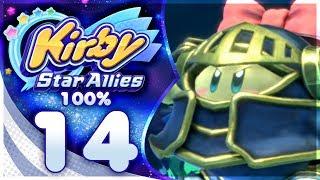 GRAND MAM! Kirby Star Allies - 100% Walkthrough: Far-Flung Starlight Heroes | Part 14!