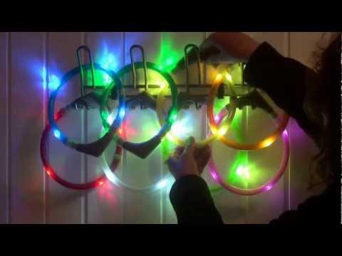 Leuchtie Leuchthalsband Leuchtring