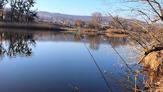 Рыбалка в марте на фидер 2020 Отлично открылись Река Северский Донец