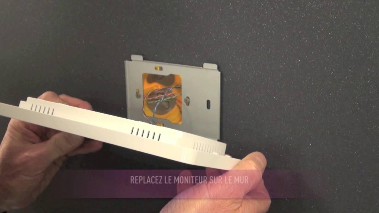 Mini note plus c blage du carillon et des moniteurs optionnels youtube - Urmet mini note ...
