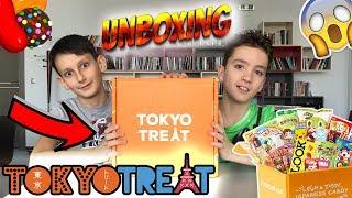 МЕГА ЯКИТЕ ВКУСОТИИ | Unboxing TOKYO TREAT ft. Виктор | Japanese Candies | Японски Бонбони