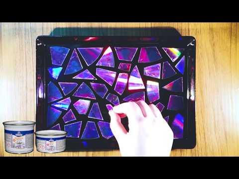 Εφαρμογή Υγρού Γυαλιού Diamond Liquid Glass με DVD σε Δίσκο.