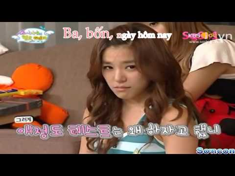 [FMV] Tiffany in Love with KyungSan - Tập 1/3: Baby Step TTS (Sad story T_T)