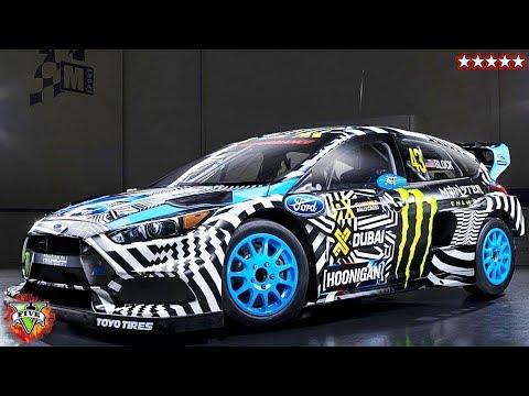 GTA 5 Making Ken Block's Focus RS on GTA - GTA Online Rally Racing - GTA 5 Online w/ The Crew