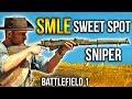 Battlefield 1 SMLE - #1 Sweet Spot Sniper BF1 Scout Gameplay SMLE MKIII Marksman
