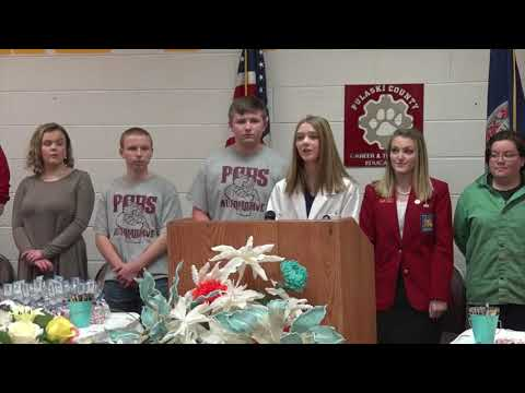 CTE Proclamation 2018 at Pulaski County High School Career and Technical Education Center