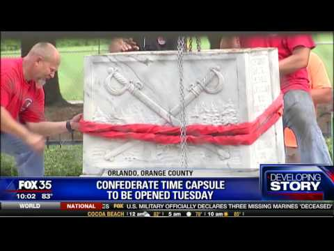Confederate Time Capsule to be Opened