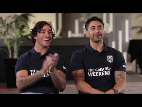Jonathan Thurston And Shaun Johnson Interview