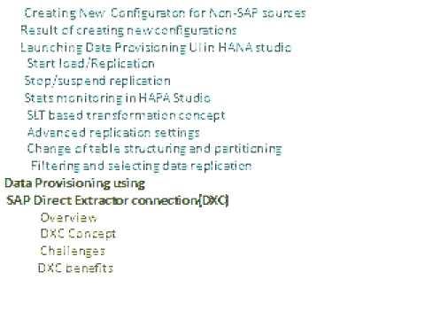 SAP HANA Online Training in Hyderabad | Bangalore | India - Lavishka Technologies