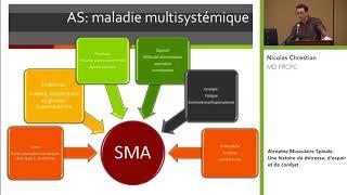 Atrophie Musculaire Spinale avec Nicolas Chrestian   DMC - MDC