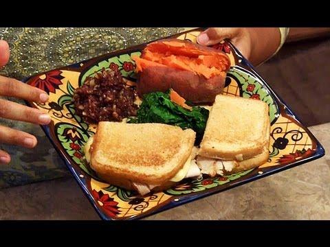 Turkey Sour-Dough Sandwich with Chutney, Kale & Sweet Potato Nikonya's Kitchen