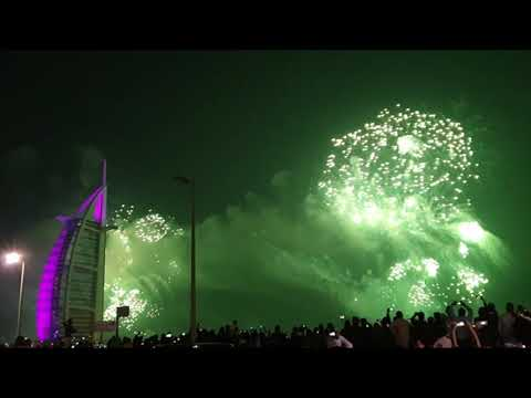 Dubai New Year in Burj Al Arab 2020